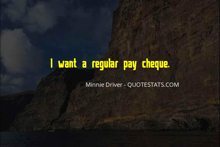 Pay Cheque Quotes #1355320