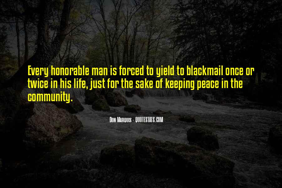 Peace Keeping Quotes #1385386