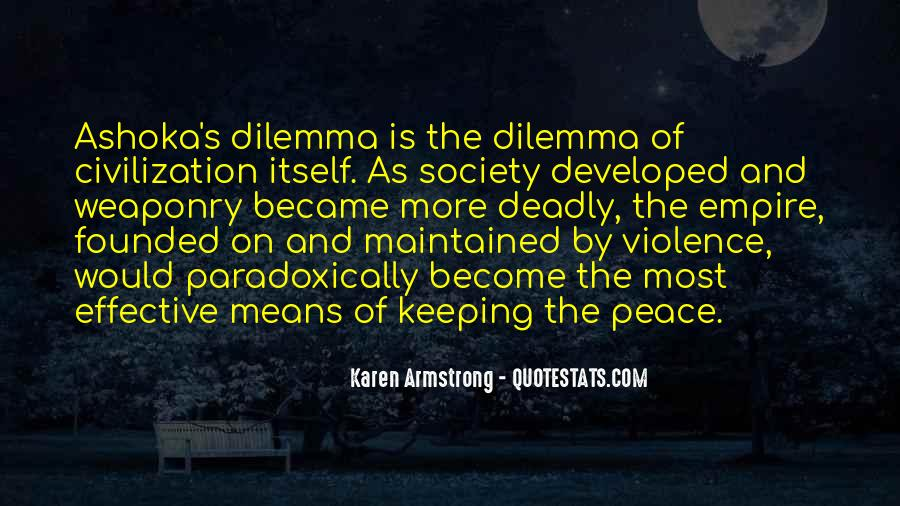Peace Keeping Quotes #448244