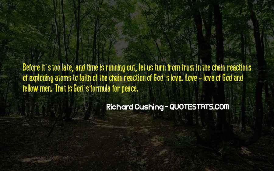 Peace Love Faith Quotes #1006315