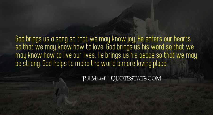 Peace Love Faith Quotes #1171735