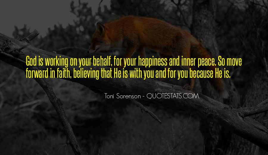 Peace Love Faith Quotes #1211613