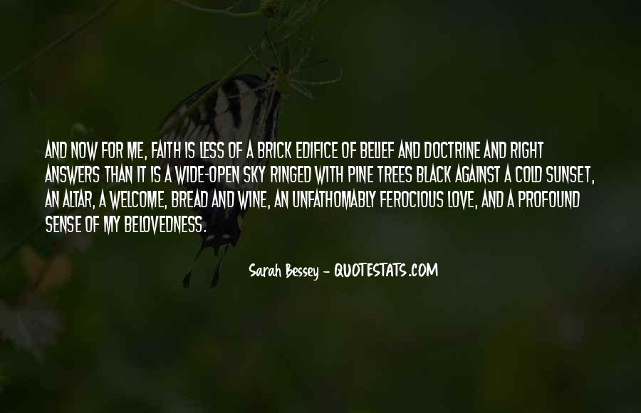 Peace Love Faith Quotes #1311226