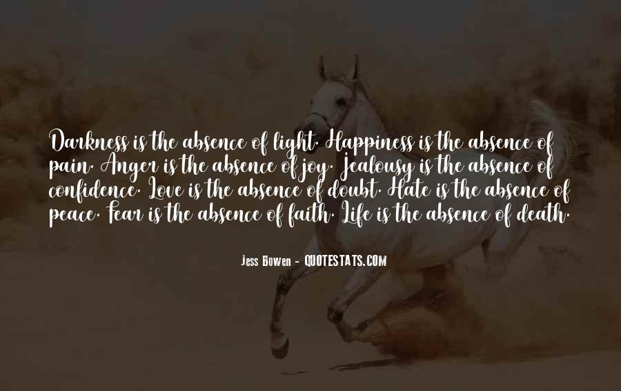 Peace Love Faith Quotes #1491998