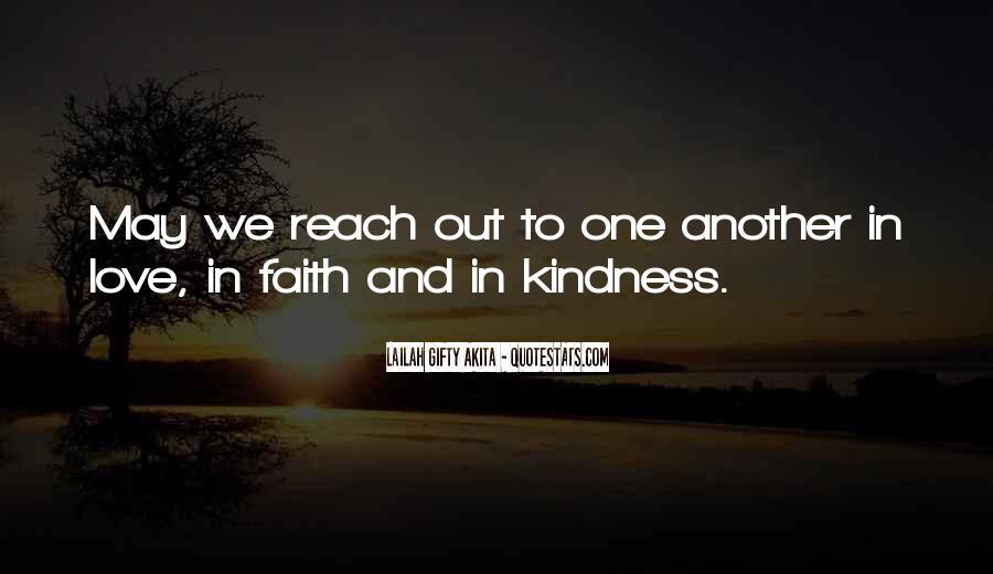 Peace Love Faith Quotes #1521578