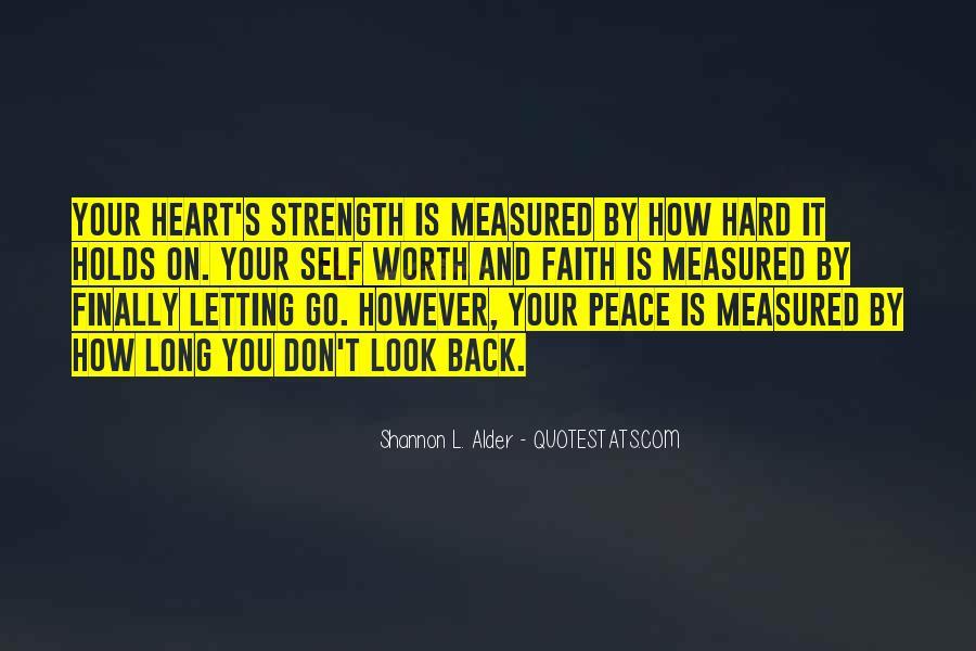 Peace Love Faith Quotes #1654291