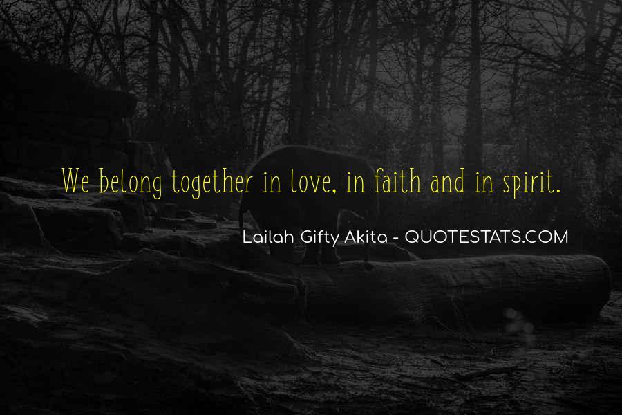 Peace Love Faith Quotes #1756369
