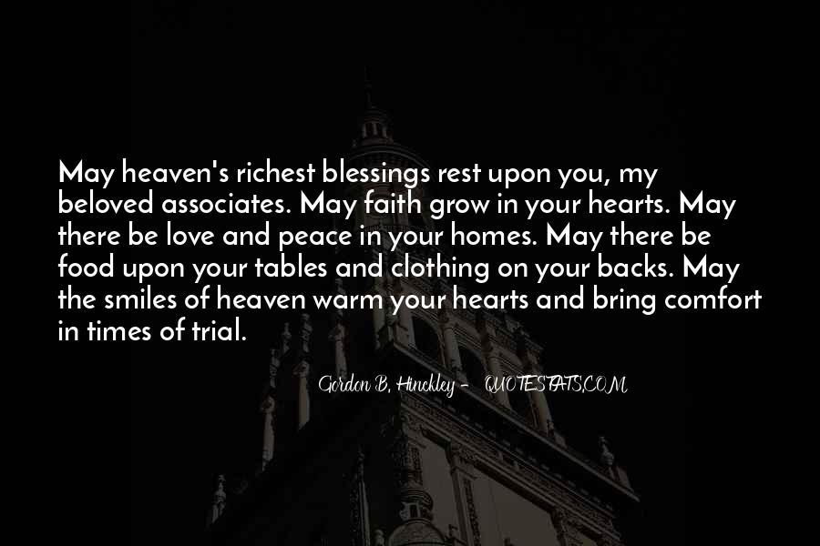 Peace Love Faith Quotes #1787990