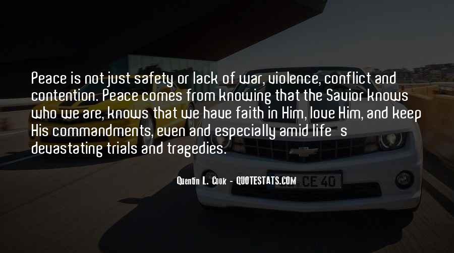 Peace Love Faith Quotes #218780