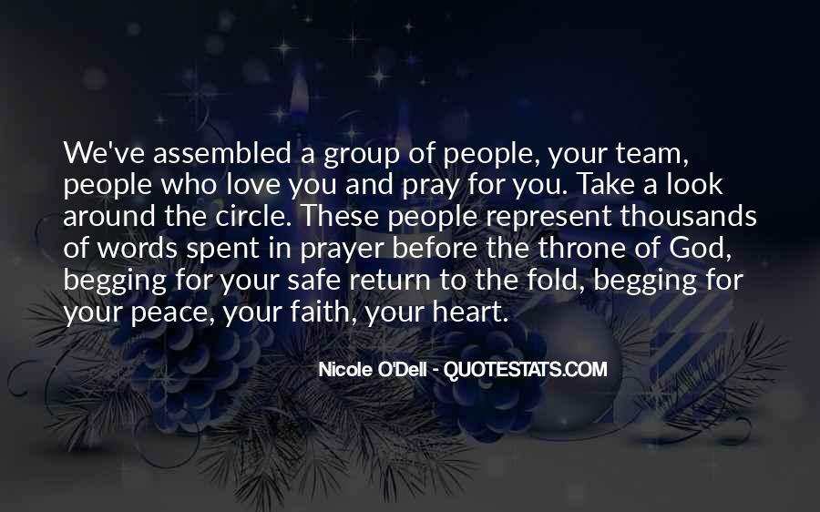 Peace Love Faith Quotes #348476