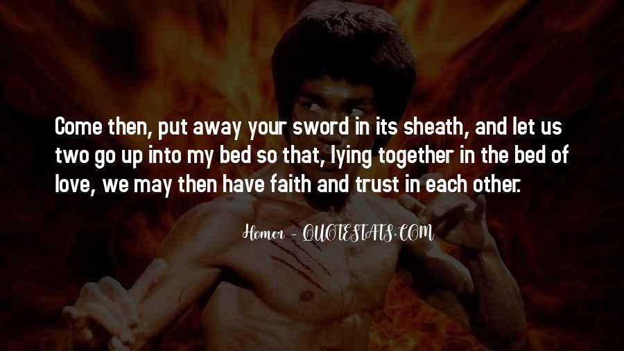 Peace Love Faith Quotes #500210