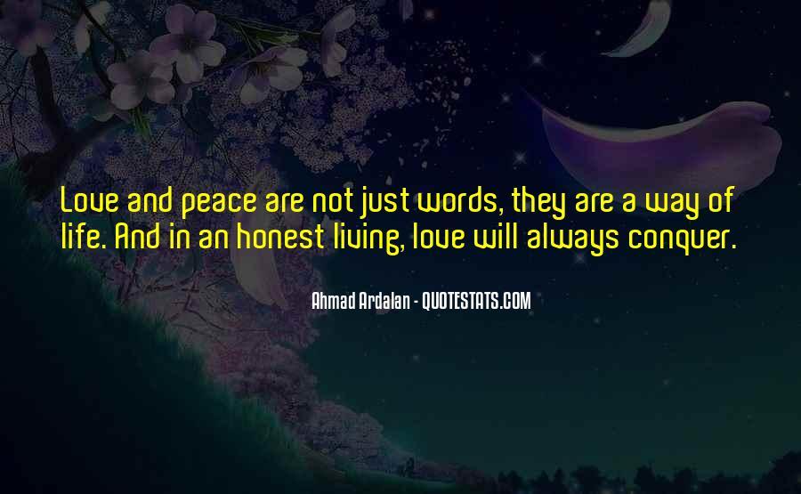 Peace Love Faith Quotes #643919