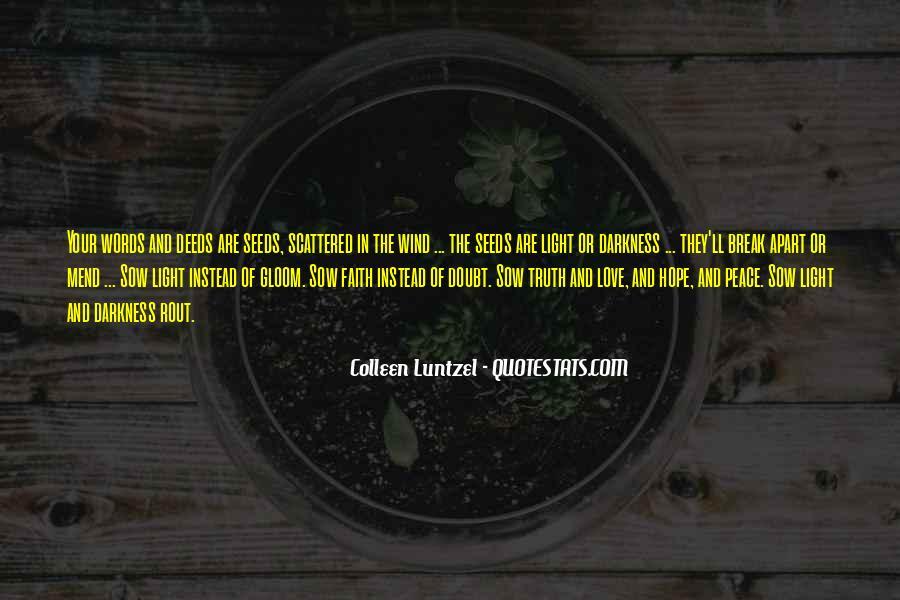Peace Love Faith Quotes #787879