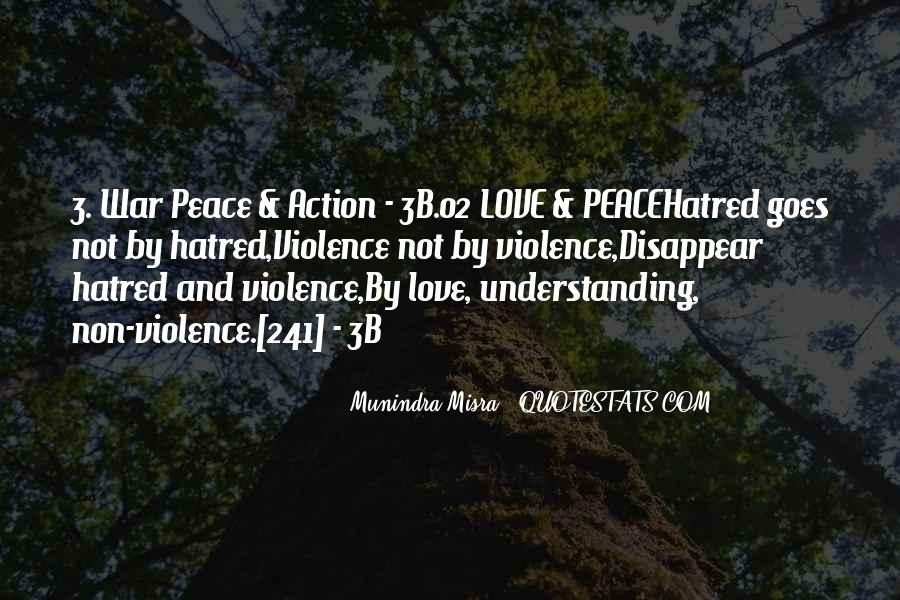 Peace Love Understanding Quotes #1840278