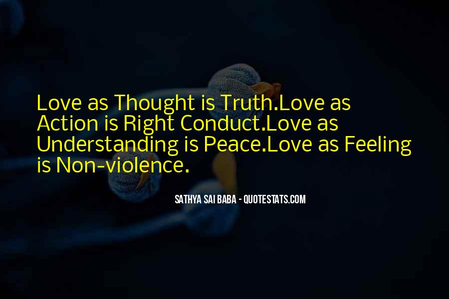 Peace Love Understanding Quotes #204043