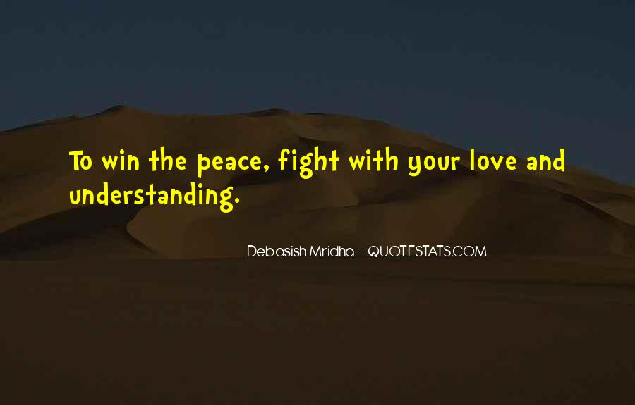 Peace Love Understanding Quotes #834897