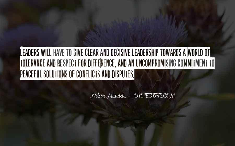 Peaceful Solutions Quotes #715802