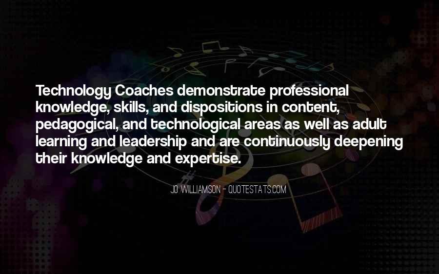 Pedagogical Leadership Quotes #758453