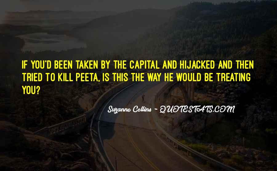 Peeta Hijacked Quotes #130705