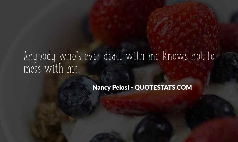 Pelosi's Quotes #1021683