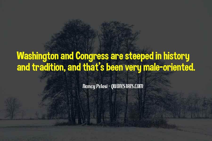 Pelosi's Quotes #1580690