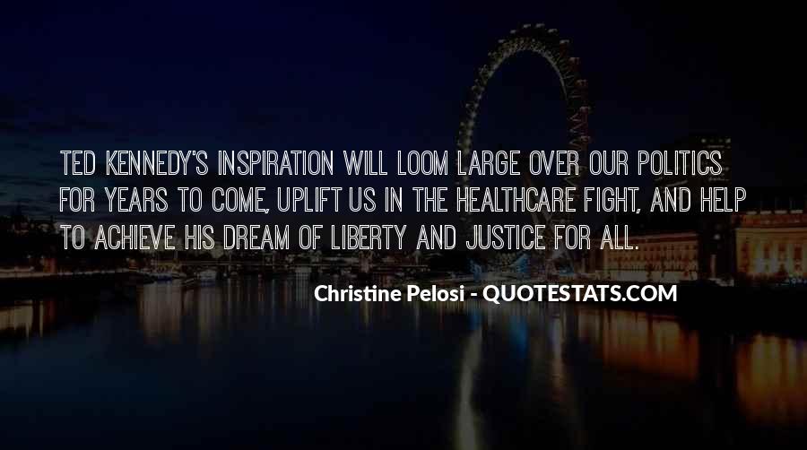 Pelosi's Quotes #1670137