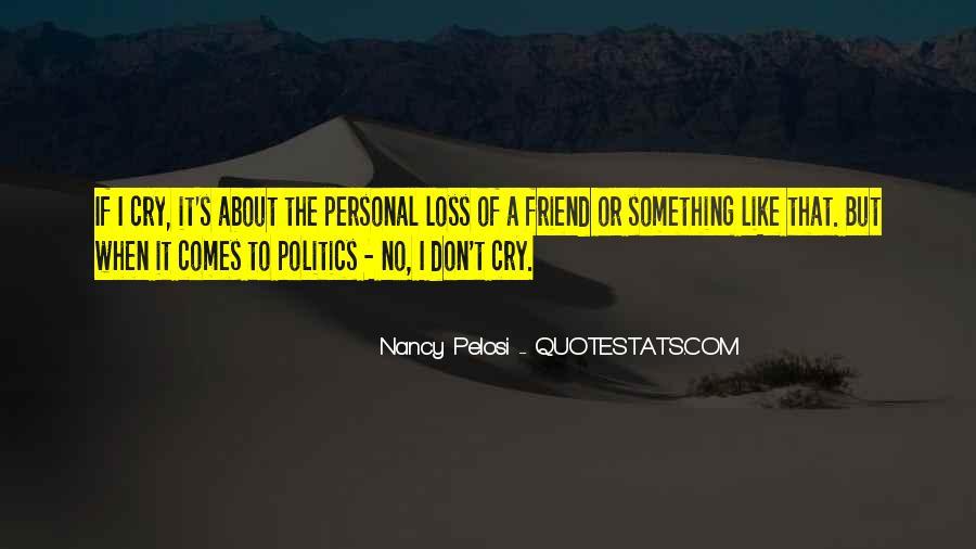 Pelosi's Quotes #173756