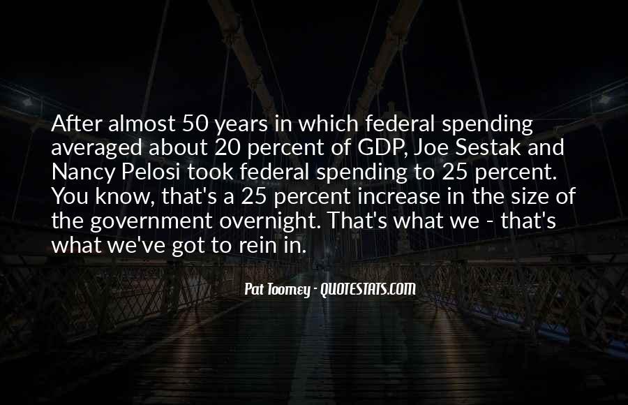 Pelosi's Quotes #1823019