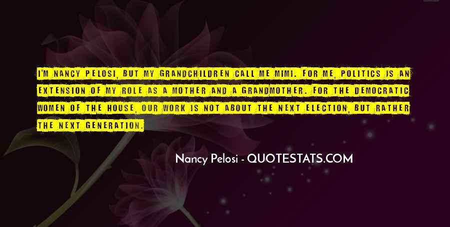 Pelosi's Quotes #26284