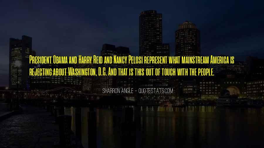Pelosi's Quotes #278508