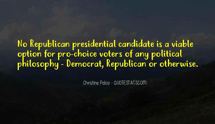 Pelosi's Quotes #342184
