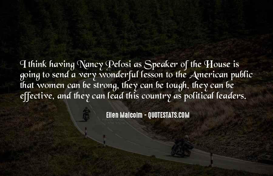 Pelosi's Quotes #374631