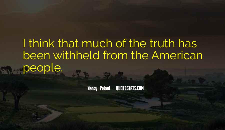 Pelosi's Quotes #394680
