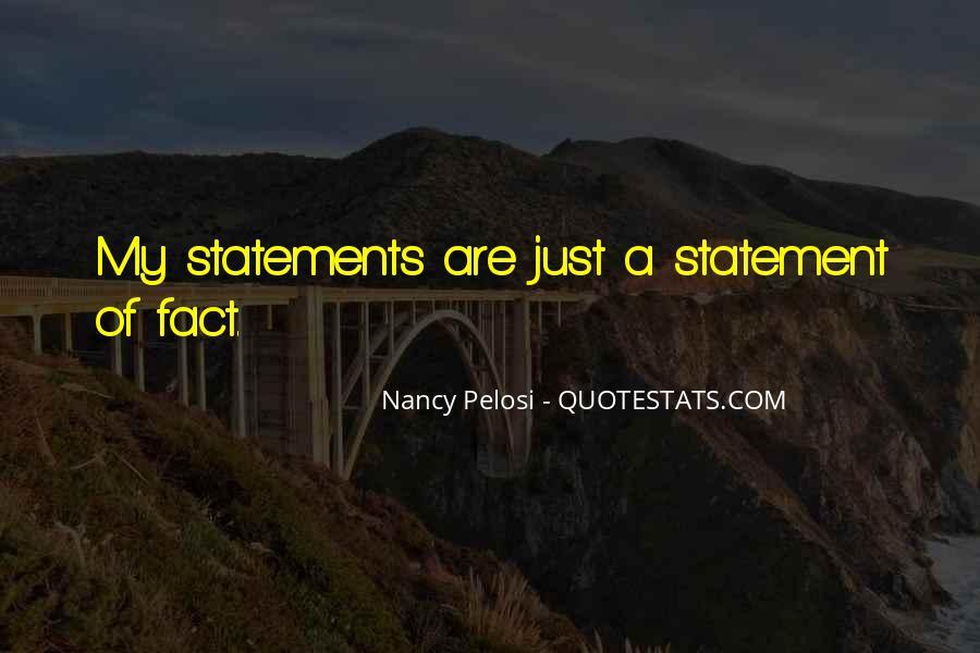 Pelosi's Quotes #404652