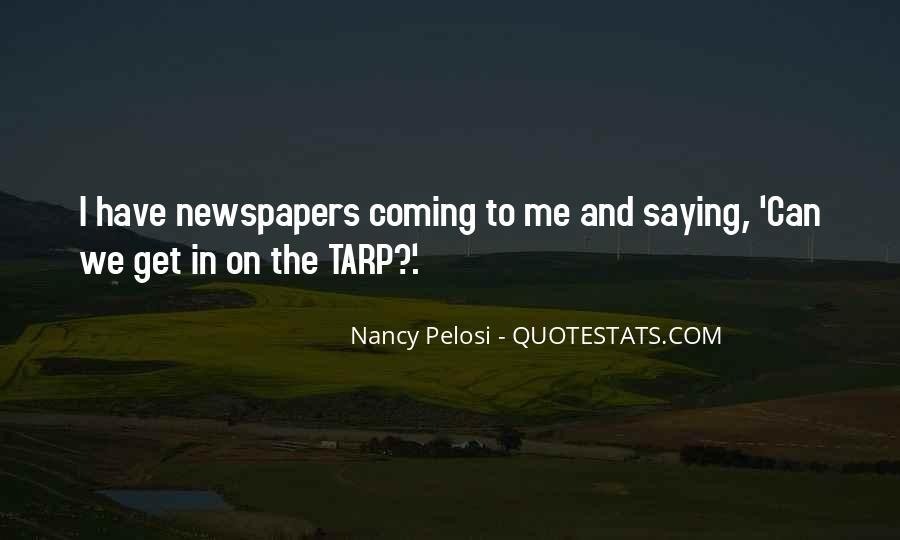 Pelosi's Quotes #40549