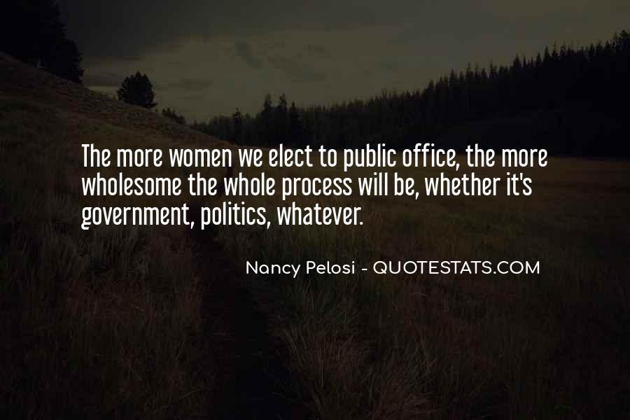 Pelosi's Quotes #439283