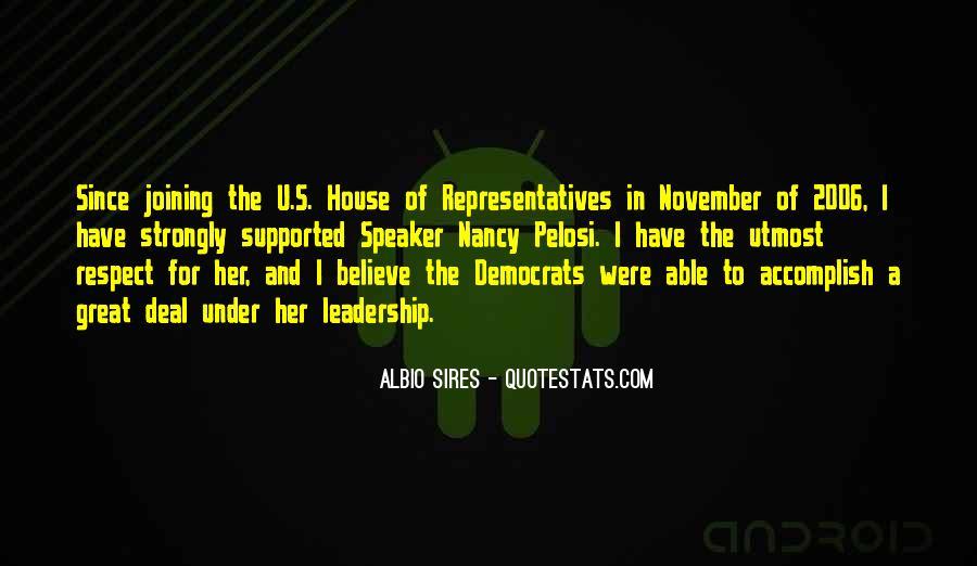 Pelosi's Quotes #455260