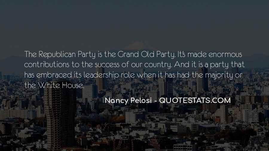 Pelosi's Quotes #575313