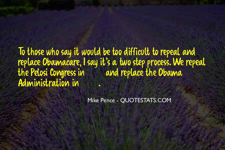 Pelosi's Quotes #716482