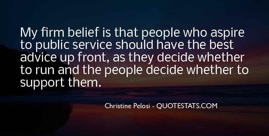 Pelosi's Quotes #7789