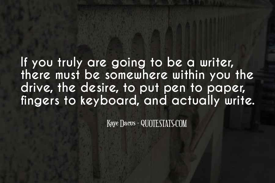 Pen Drive Quotes #1252935