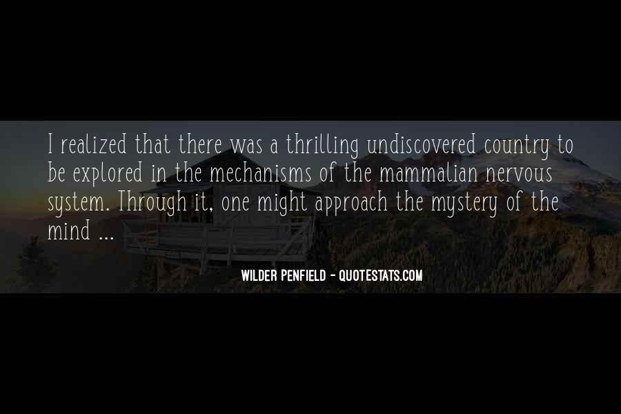 Penfield Quotes #1799652
