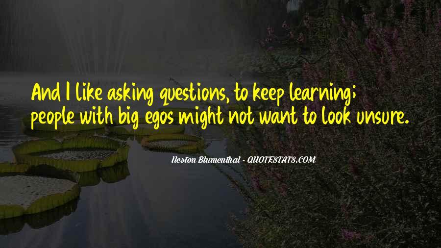 People's Egos Quotes #307841