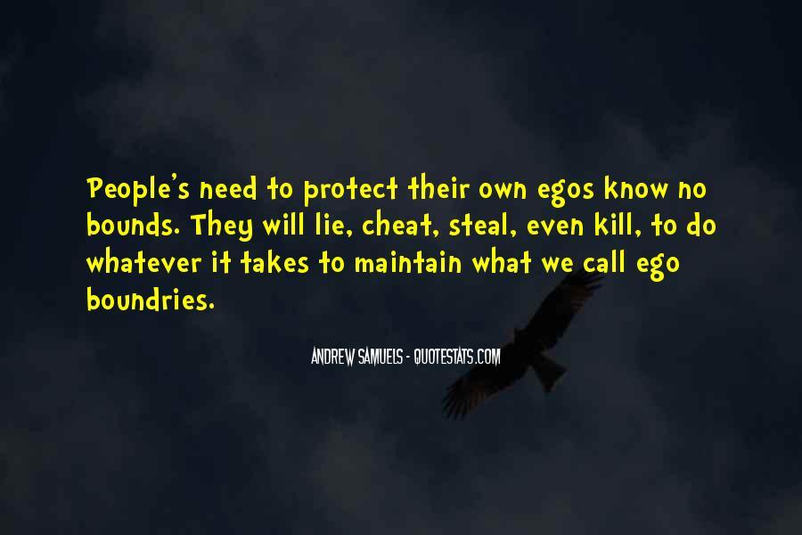 People's Egos Quotes #978909