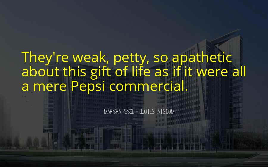 Pepsi Commercial Quotes #1095527