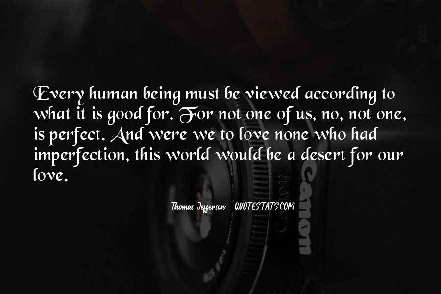 Perfect Imperfection Love Quotes #134438
