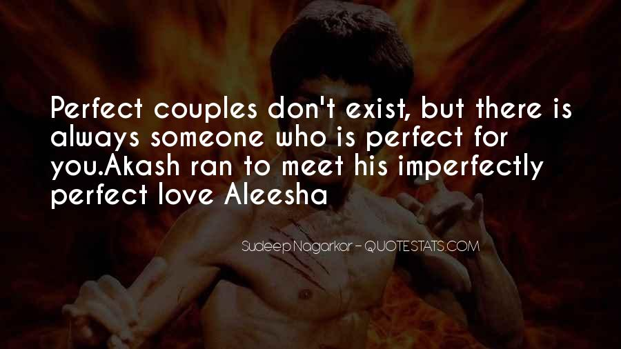 Perfect Imperfection Love Quotes #1579468