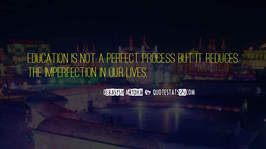 Perfect Imperfection Love Quotes #1665533