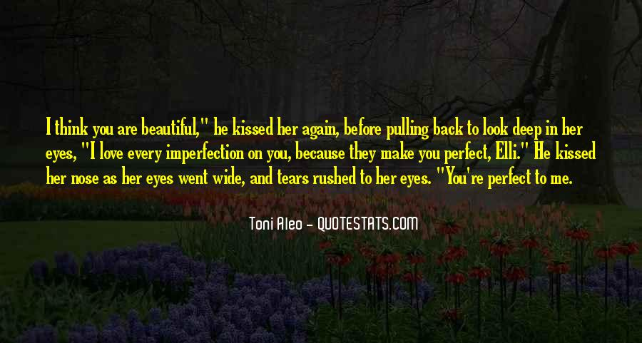 Perfect Imperfection Love Quotes #1758505