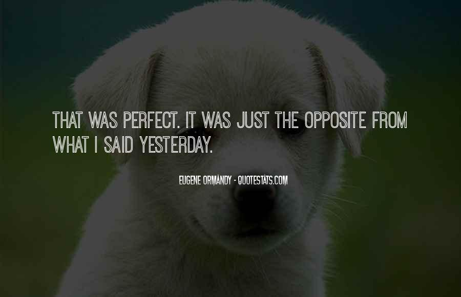 Perfect Opposites Quotes #1125683